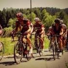 Nederlandse wielrenners op het podium van grote wielerrondes