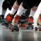Wat is de sport roller derby?