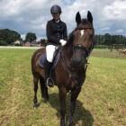Wedstrijdkleding voor de paardensport (springen)