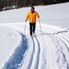 Langlaufen wintersport voor beginners en fanatieke sporters