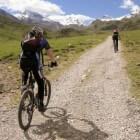 Bergvakantie met fietsen in de bergen