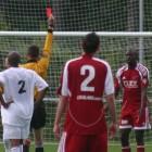 Penalty én rode kaart na hands: terecht of niet?