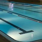 Het zwemmen van wedstrijden