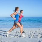 Rennen (hardlopen) met een volle maag