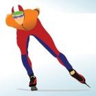 Schaatsen en schaatsblessures - polsbreuk en kneuzing op ijs