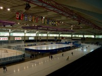 Olympic Oval / Bron: Drhaggis, Wikimedia Commons (CC BY-SA-3.0)